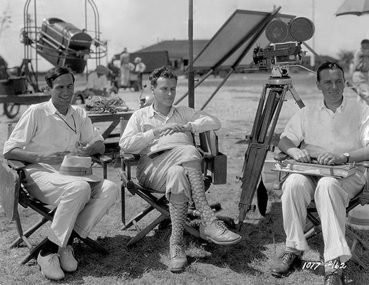 Lucien Hubbard Producer Lucien Hubbard director William A Wellman and