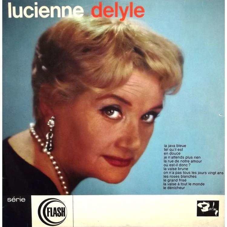 Lucienne Delyle lucienne delyle la java bleue by LUCIENNE DELYLE LP