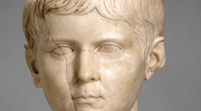 Lucius Caesar Head of Lucius Caesar Cuenca Museum Cuenca at Spain is culture