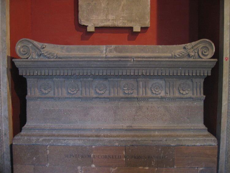 Lucius Cornelius Scipio Barbatus FileLucius Cornelius Scipio Barbatus Tombjpg Wikimedia Commons