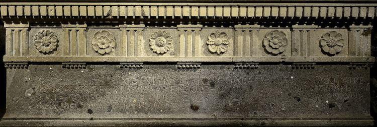 Lucius Cornelius Scipio Barbatus A replica of the sarcophagus of Lucius Cornelius Scipio Barbatus