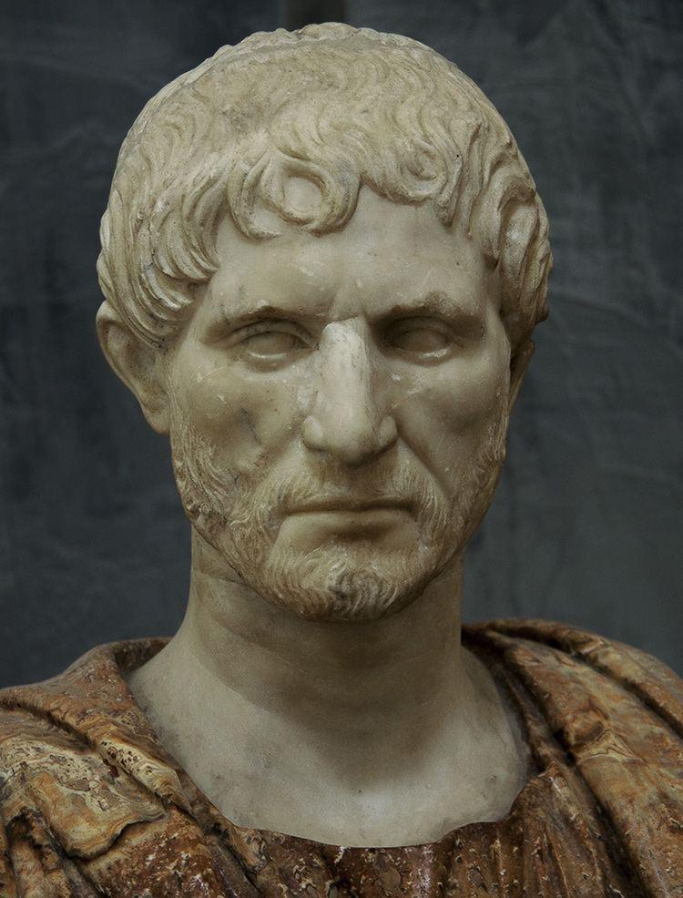 Lucius Junius Brutus Socalled Lucius Junius Brutus Naples National Archaeological