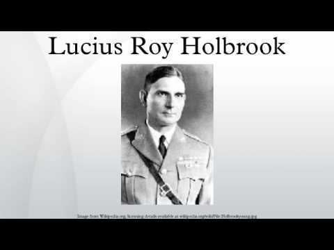 Lucius Roy Holbrook Lucius Roy Holbrook YouTube