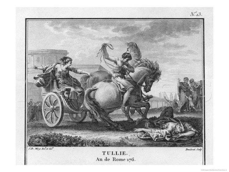 Lucius Tarquinius Superbus Tullia Arranges to Have Her Husband and Father Killed by