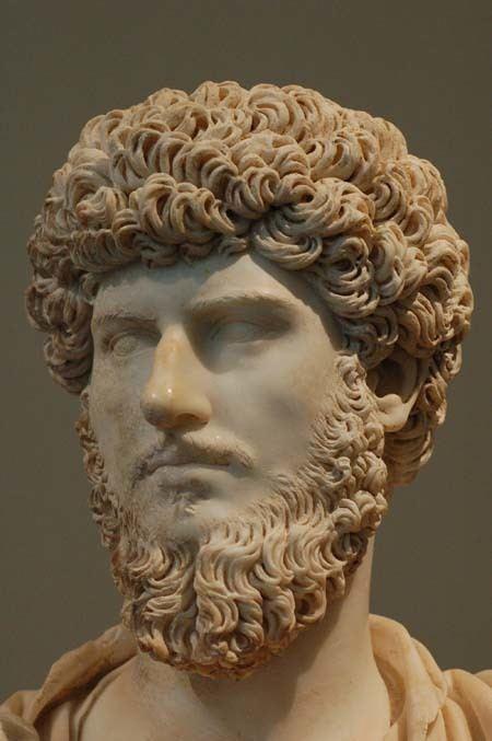 Lucius Verus Roman Portrait Sculptures Nerva to Commodus