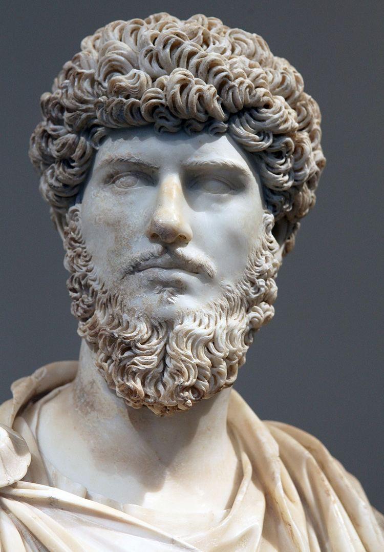 Lucius Verus Bust of Lucius Verus Paris Louvre Museum
