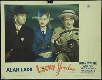 Lucky Jordan Movie Poster Service