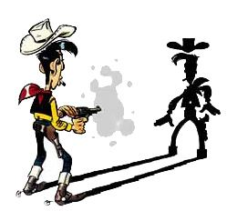 Lucky Luke 1000 images about lucky luke on Pinterest Bang bang Jumpers and
