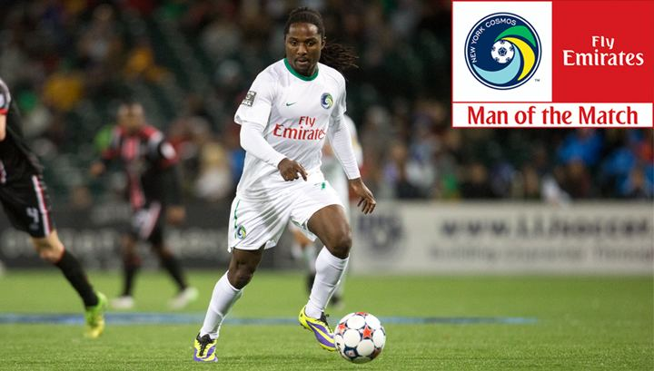 Lucky Mkosana Lucky Mkosana Named Emirates Cosmos Man of the Match in 1