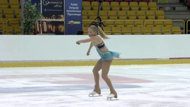Lucrezia Gennaro 2015 ISU Jr Grand Prix Torun Ladies Short Program Lucrezia