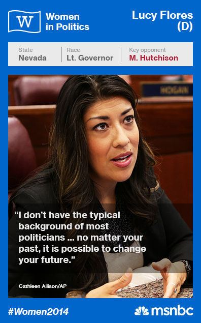 Lucy Flores 30 in 30 Women Candidates to Watch in 2014 Lucy Flores MSNBC