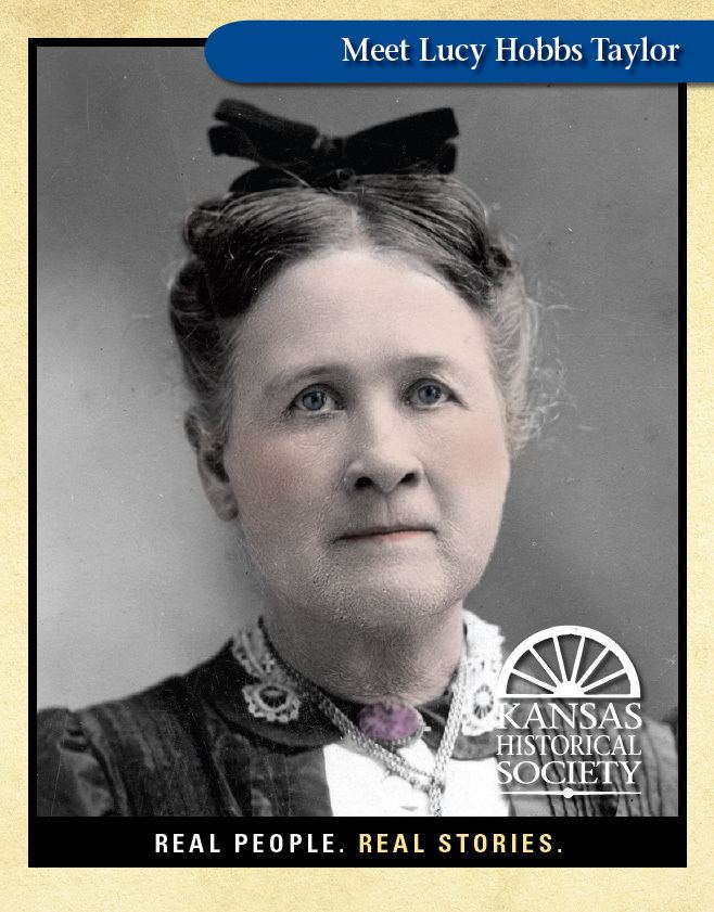 Lucy Hobbs Taylor Lucy Hobbs Taylor 18331910 first female dentist in Kansas