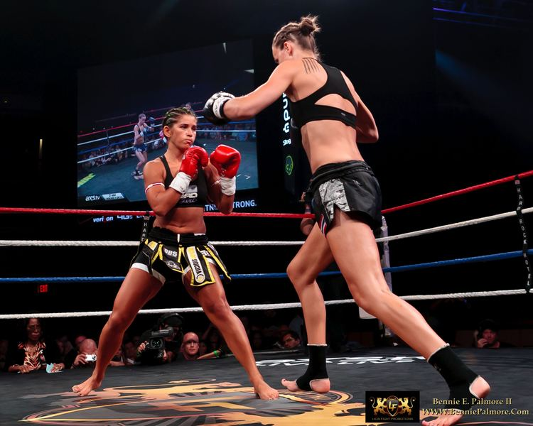 Lucy Payne Lion Fight Promotions Tiffany Van Soest on Lucy Payne Rematch