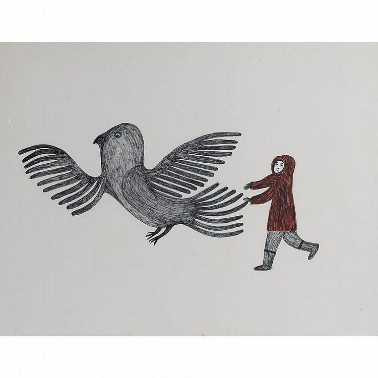Lucy Qinnuayuak Lucy Qinnuayuak Works on Sale at Auction Biography