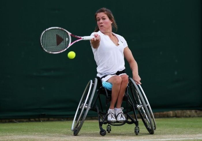 Lucy Shuker Wheelchair great Lucy Shuker wins another title