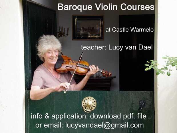 Lucy van Dael Lucy van Dael baroque violinist