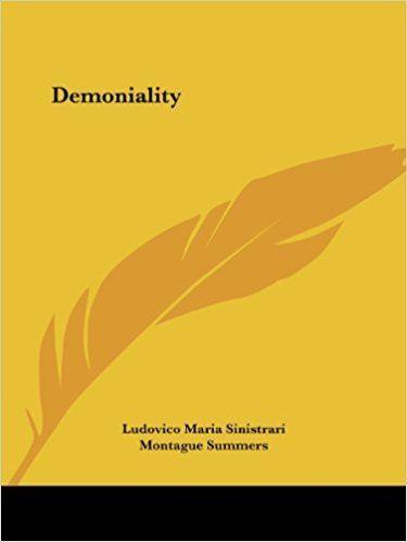 Ludovico Maria Sinistrari Amazoncom Demoniality 9780766142510 Ludovico Maria Sinistrari