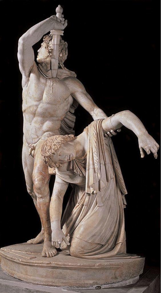 Ludovisi Gaul Ludovisi Gaul Killing Himself and His Wife by Epigonus of Pergamum