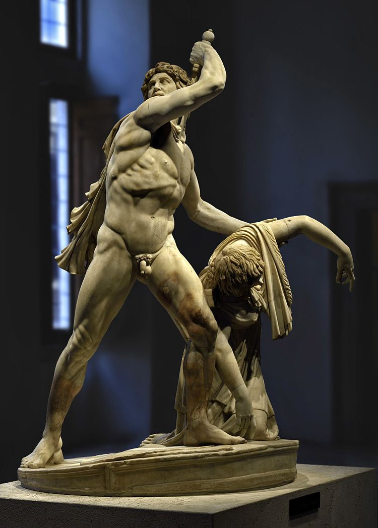 Ludovisi Gaul Gaul killing himself and his wife also known as Ludovisi Gaul or