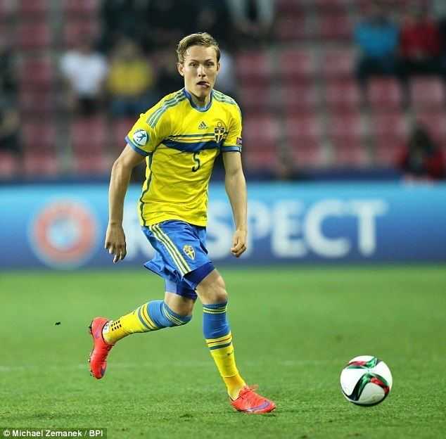 Ludwig Augustinsson Liverpool target Sweden youngster Ludwig Augustinsson in