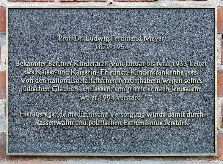 Ludwig Ferdinand Meyer Ludwig Ferdinand Meyer Wikipedia