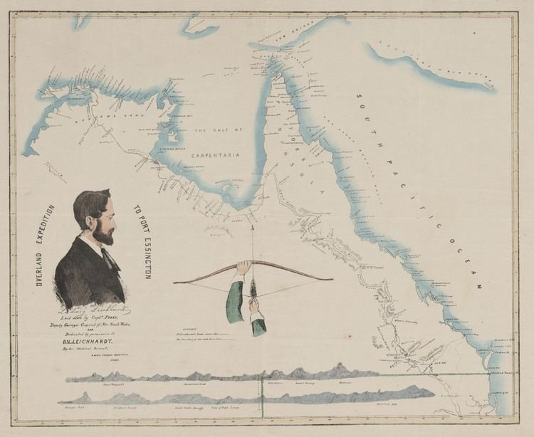 Ludwig Leichhardt REMEMBERING EXPLORER LUDWIG LEICHHARDT BORN 200 YEARS AGO THIS MONTH