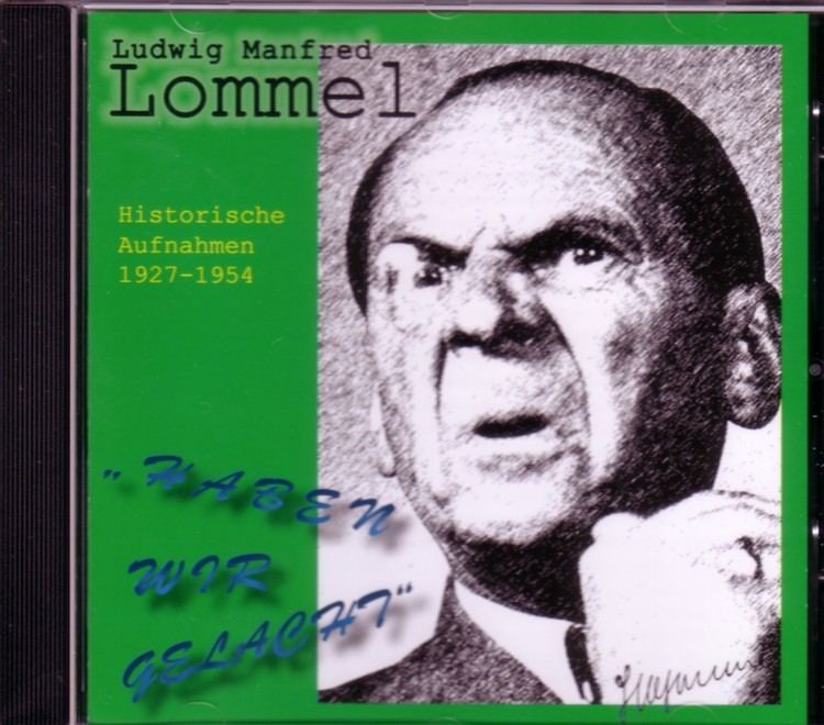 Ludwig Manfred Lommel wwwschlesischeschatztruhedeimagesproductimag