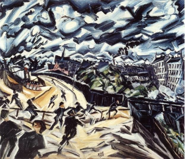 Ludwig Meidner The Apocalyptic Cityscapes of Ludwig Meidner metropolisms