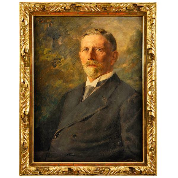 Ludwig Rehn Louis Rehn Die Portraitsammlung Dr Senckenbergische Stiftung