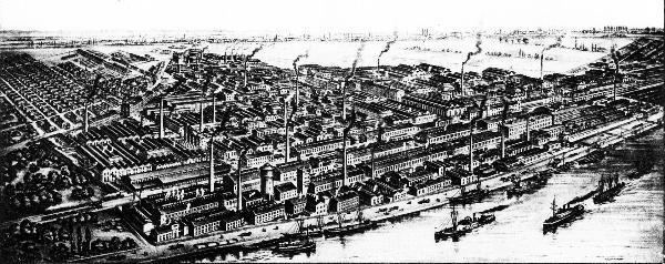 Ludwigshafen in the past, History of Ludwigshafen