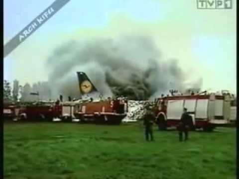 Lufthansa Flight 2904 Lufthansa Flug 2904 1993 Warschau YouTube