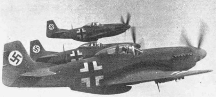 Luftwaffe Several P51s were captured by the Luftwaffe as Beuteflugzeug