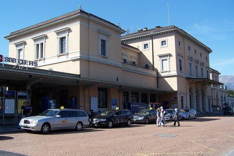 Lugano railway station