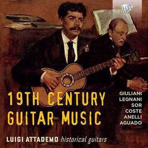 Luigi Attademo Luigi Attademo 19th Century Guitar Music New CD UK Import