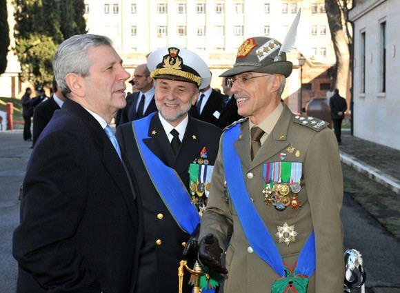 Luigi Binelli Mantelli L39Ammiraglio Luigi Binelli Mantelli nuovo Capo di Stato Maggiore