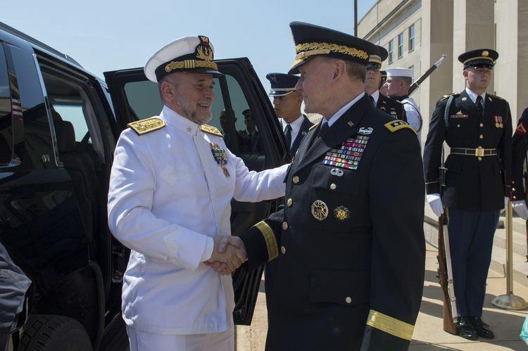 Luigi Binelli Mantelli FileMartin E Dempsey greets Italian Chief of Defense Staff Adm