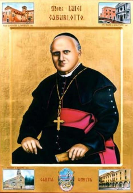 Luigi Caburlotto Beato sac Luigi Caburlotto