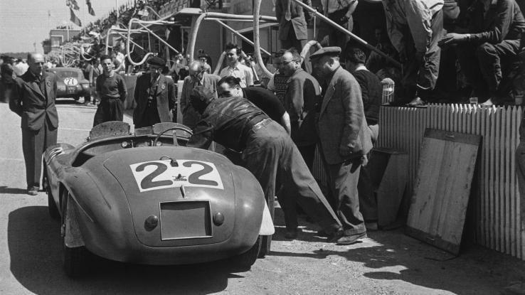 Luigi Chinetti Ferrari in America at 60 Luigi Chinetti first Ferrari dealer in US