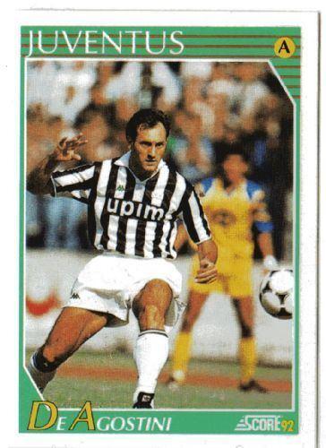Luigi De Agostini JUVENTUS Luigi De Agostini 138 SCORE 1992 Italian