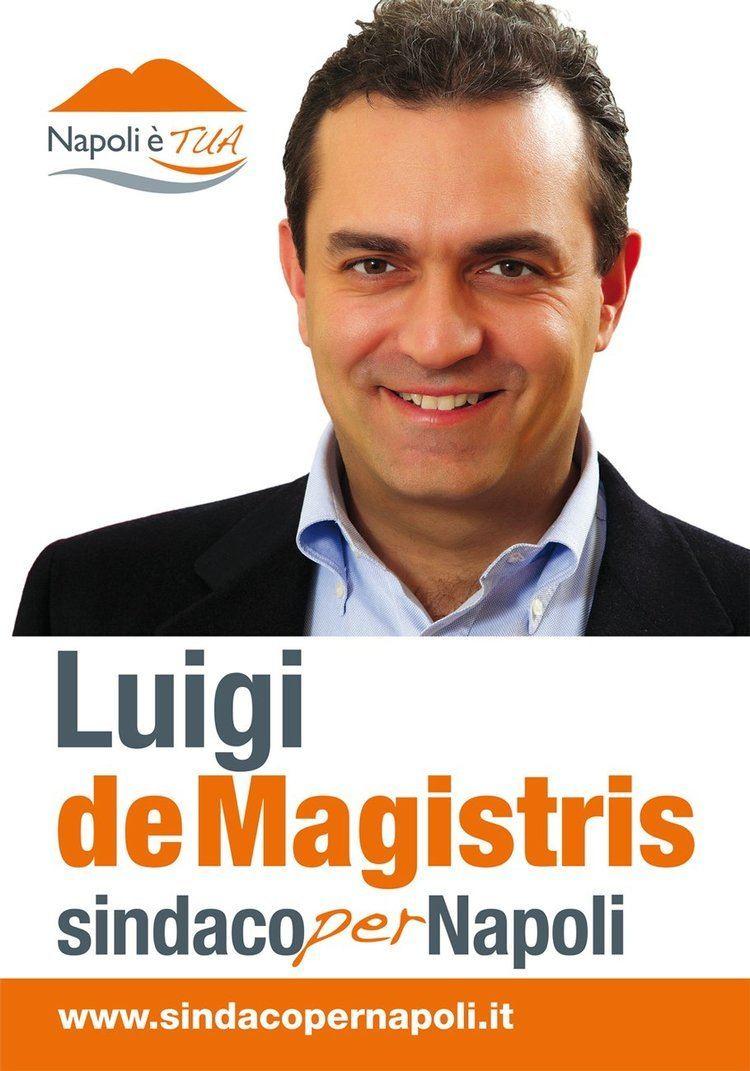 Luigi de Magistris (politician) Naples has a new mayor Luigi de Magistris Naples Politics