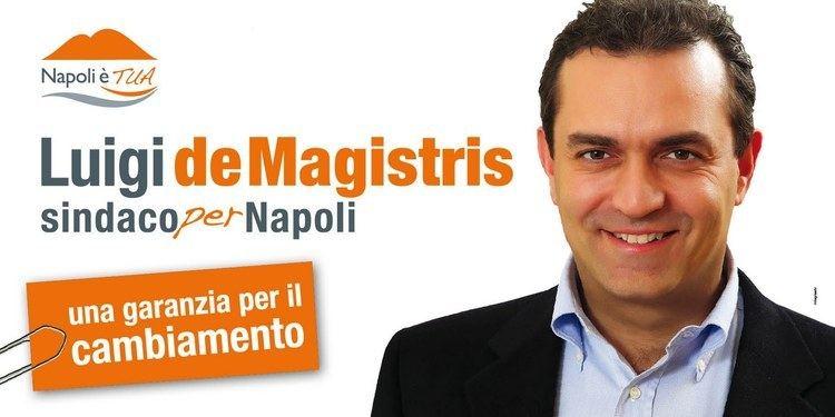 Luigi de Magistris (politician) Il caso di Luigi De Magistris Proprio lui grida allingiustizia