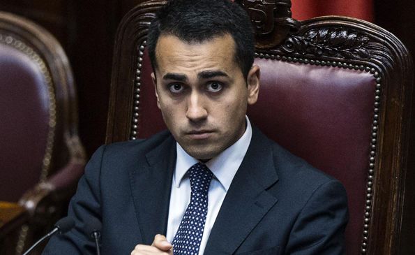Luigi Di Maio TzeTze Politica TzeTze Falsa notizia della Stampa Di