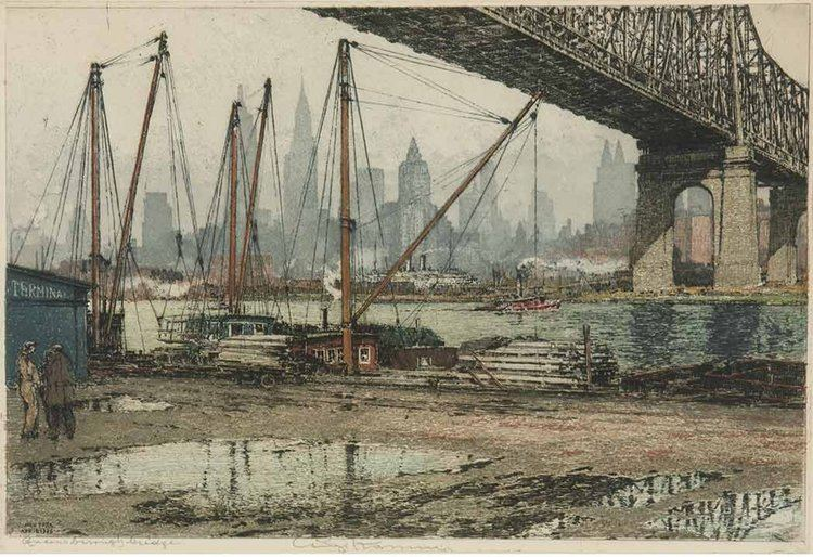 Luigi Kasimir New York in the 192039s and 3039s as Seen by Luigi Kasimir