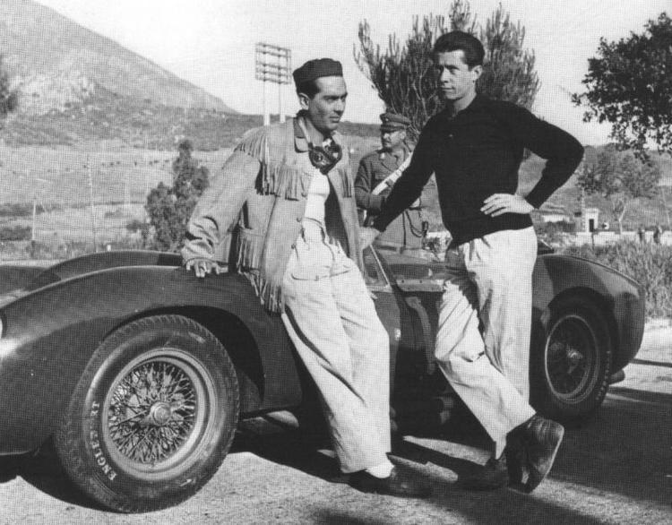 Luigi Musso Luigi Musso and Olivier Gendebien Drivers Pinterest