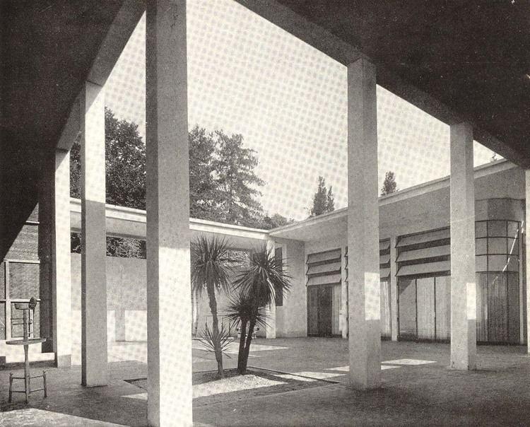 Luigi Piccinato IT Milano Casa coloniale Architect Luigi Piccinato 1933