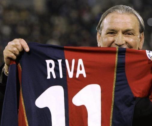 Luigi Riva Retro footballer How Gigi Rivas goals for Cagliari helped him earn