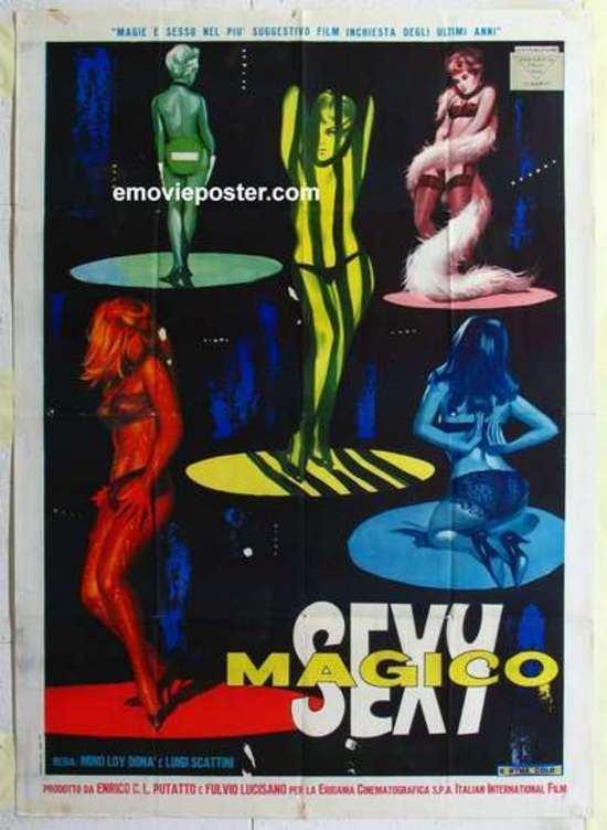 Luigi Scattini Sexy magico 1963 Mino Loy Luigi Scattini Italy Mondo Films