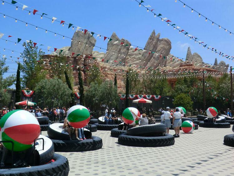 Luigi's Flying Tires Mouseplanet Cars Land Test Drive Luigi39s Flying Tires by Adrienne