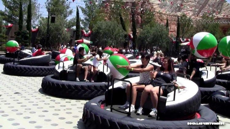 Luigi's Flying Tires HD POV Luigi39s Flying Tires Ride at Disney California Adventure