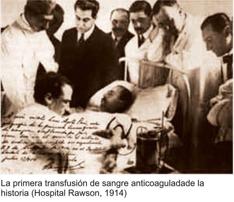 Luis Agote Dr Luis Agote orgullo nacional